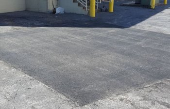 cracked asphalt repair